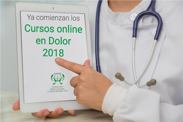 Cursos online en Dolor de Fundación GADA